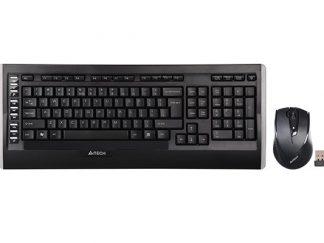 A4-Tech 9300F Q Kablosuz MM V-Track Mouse Set