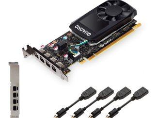 Pny Quadro P620 2GB GDDR5 128B 4mDp(mDP to DP)