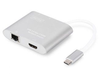 Digitus DA-70847 USB Type-C to USB 3.0x2-HDMI-RJ45