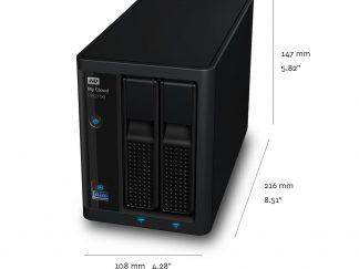 WD 4TB My Cloud PR2100 Nas WDBBCL0040JBK-EESN