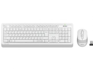 A4-Tech FG1010 Beyaz Q Kablosuz Klavye Mouse Set