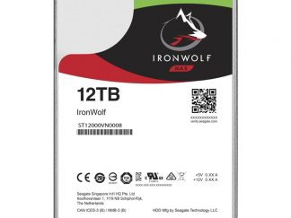 "Seagate 12TB IronWolf 3.5"" 7200 256M ST12000VN0008"