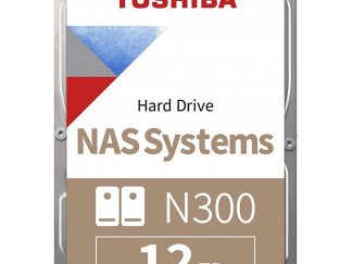 Toshiba 12TB N300 7200 256MB 7/24 Nas HDWG21CUZSVA