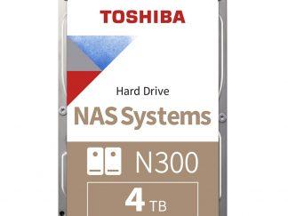 Toshiba 4TB N300 7200 128MB 7/24 Nas HDWQ140UZSVA