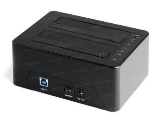 "Dark DK-AC-DSD26C Çiftli 3.5""/2.5"" USB3.0 SATA Dis"