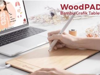 woodpad bambu grafik tablet