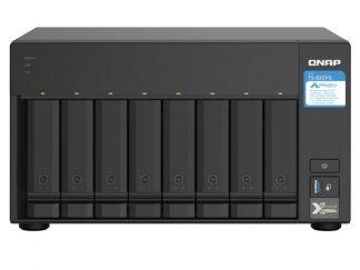 QNAP TS-832PX-4GB RAM 8 Hdd Yuvalı Tower NAS