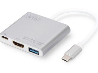 Digitus DA-70838-1 USB Type-C to USB3.0-HDMI-TypeC