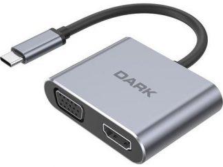 Dark DK-AC-U31XMST TypeC 3.1 to HDMI + VGA Çeviric