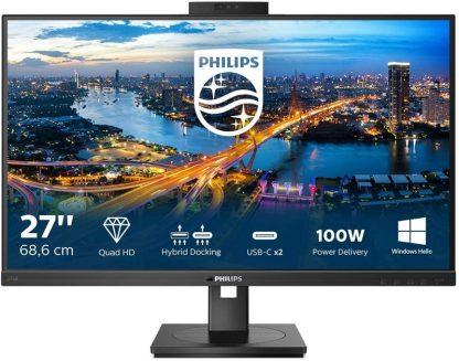 "Philips 27"" 276B1JH/00 4ms QHD TypeC MM Webcam IPS"