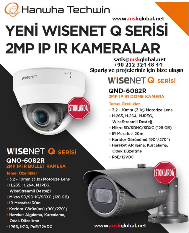 samsung wisenet Q IP kamera