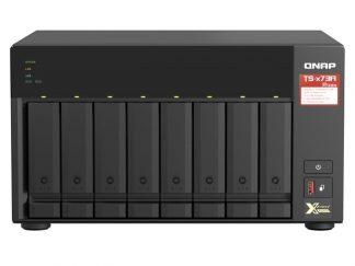 QNAP TS-873A-8GB  RAM 8 Hdd Yuvalı Tower NAS