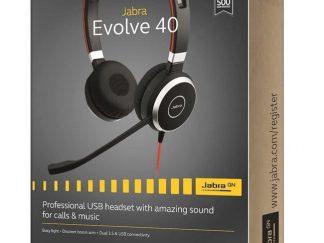 Jabra Evolve 40 Duo USB NC MS