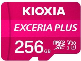 Kioxia 256GB Micro SDXC U-1V30 100/80 LMPL1M256GG2