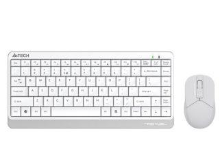 A4-Tech FG1112 Beyaz Q Mini Kablosuz Klavye-Mouse